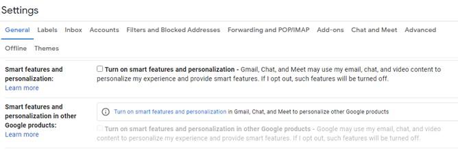 Intelligente Funktionen und Personalisierung
