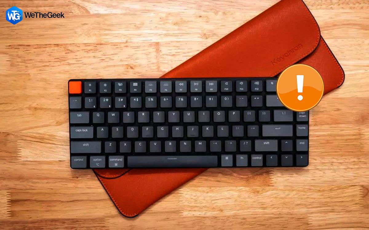 How To Fix Wireless Keyboard Lag on Windows PC?