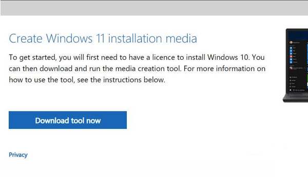 Erstellen Sie Windows 11-Installationsmedien