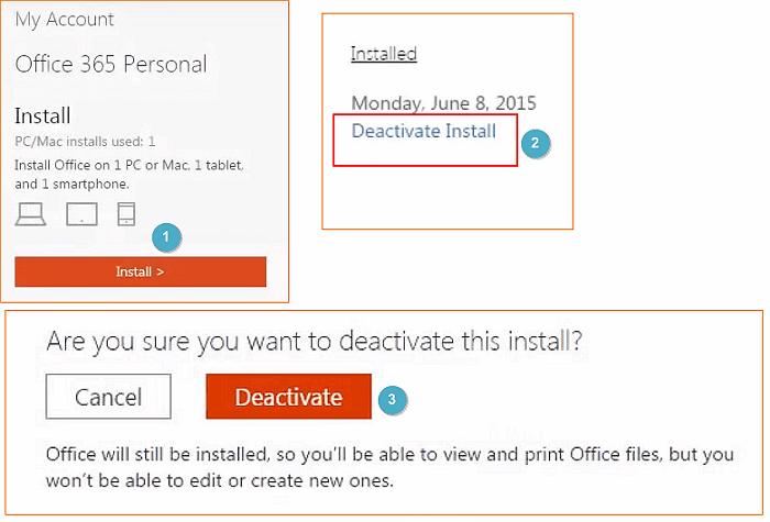 Büro auf neuen Computer übertragen