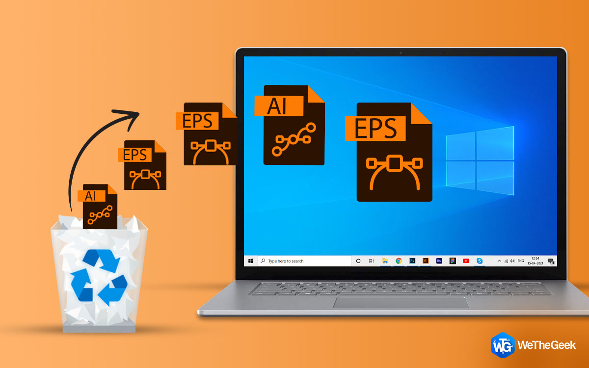 Lost/deleted Vector Images? Here is How to Restore Deleted Images on Windows PC?