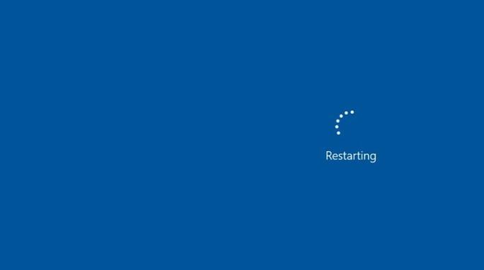 Starte deinen Computer neu
