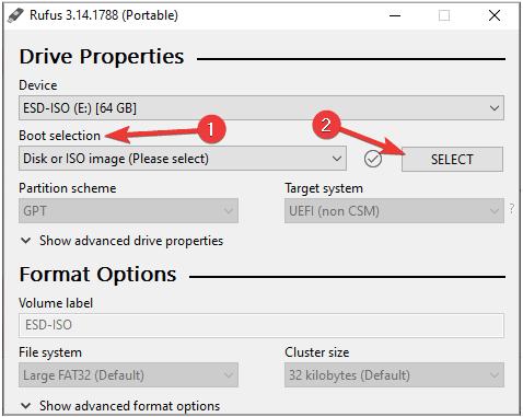 Standard-Windows-Installation