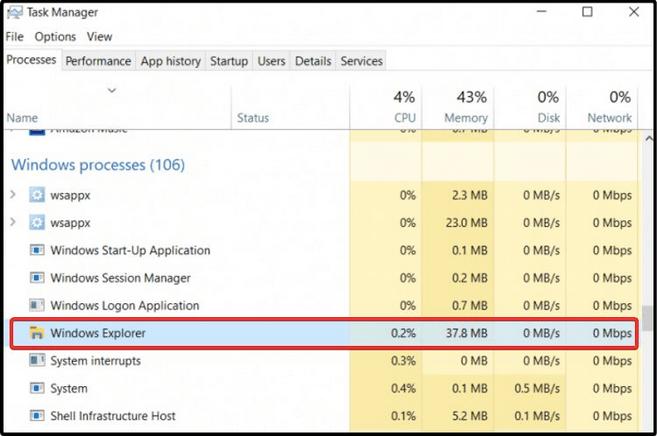 Task-Manager-Fenster