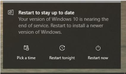 Dieser PC kann nicht aktualisiert werden