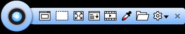ganzseitige Bildschirmaufnahme