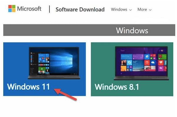 Verwenden des Media Creation Tools unter Windows 11