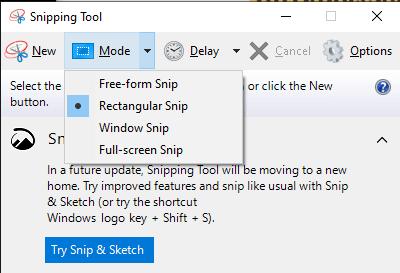 Screenshots unter Windows 11