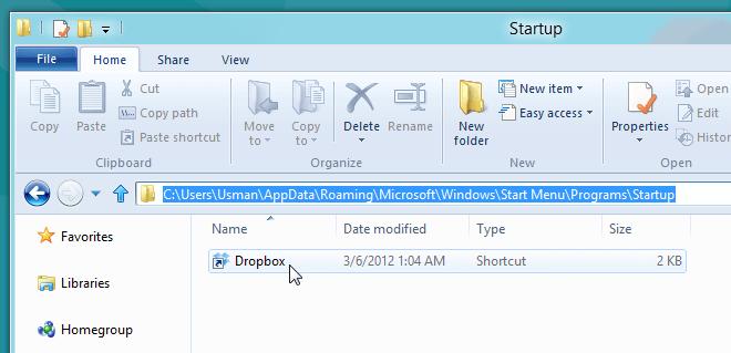 Greifen Sie unter Windows 11 auf den Autostart-Ordner zu