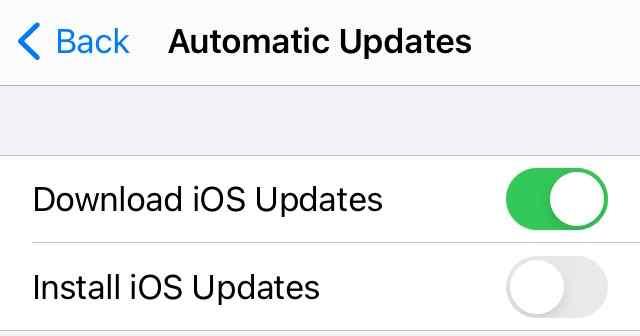 Herunterstufen von iOS 15 auf 14