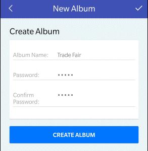 Album erstellen