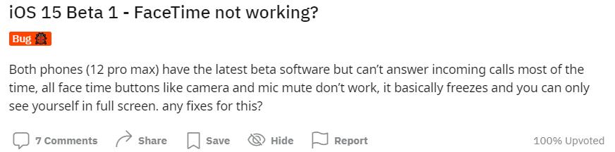 FaceTime funktioniert nicht