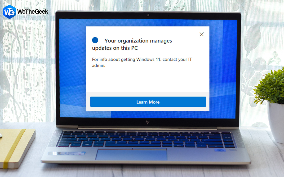 How To Fix Your Organization Manages Updates on This PC