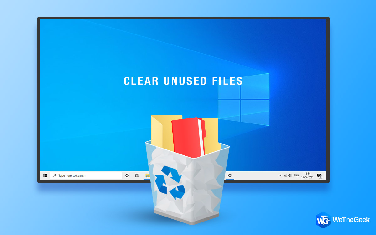 How to Clear Unused Files on PC