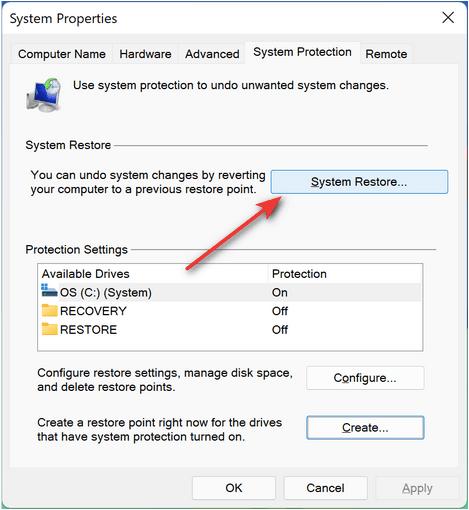 So stellen Sie Windows 11 wieder her