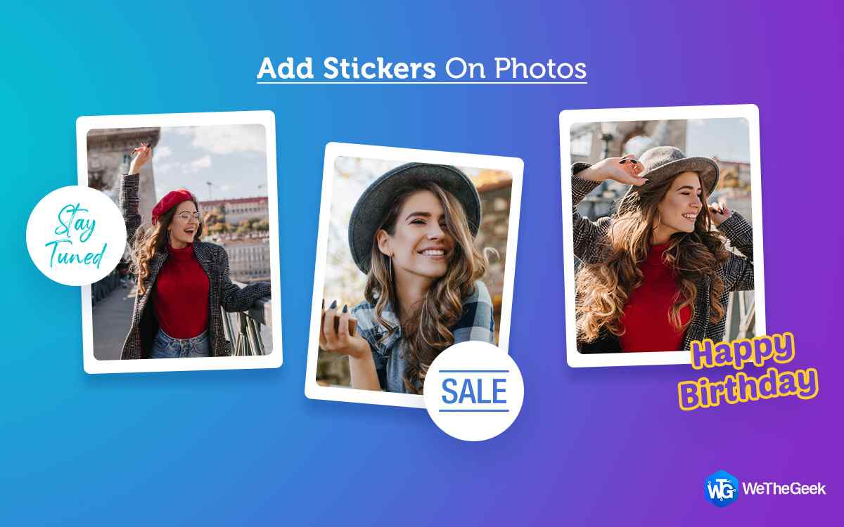 How To Add Stickers On Photo