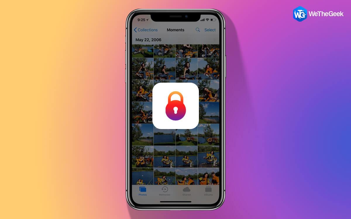How To Lock Hidden Photos On An iPhone?