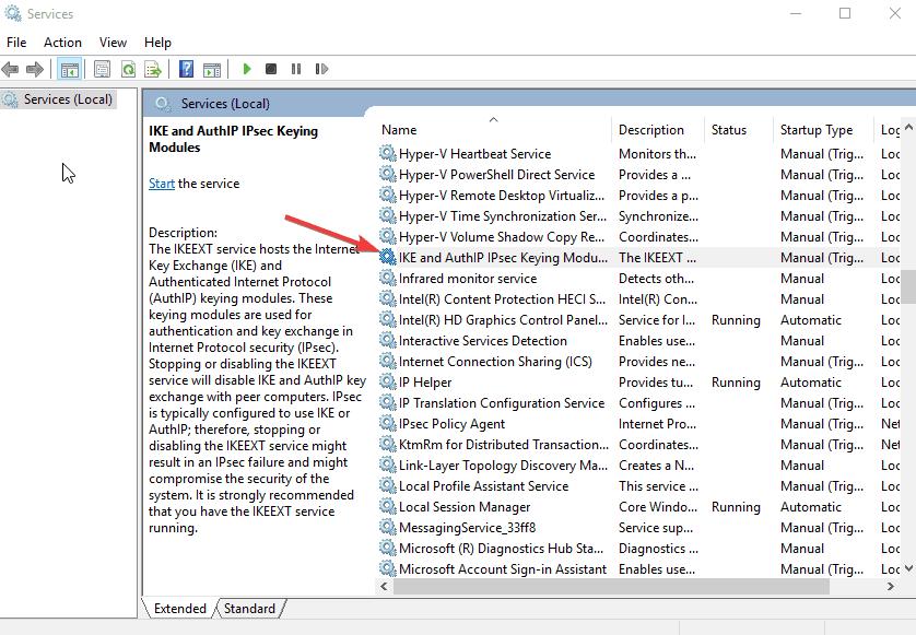 Verbindung fehlgeschlagen unter Windows 10