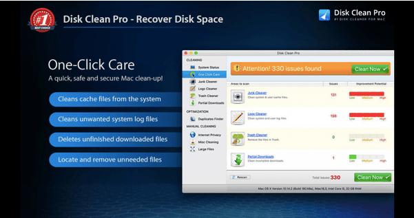 Disk Clean Pro installieren