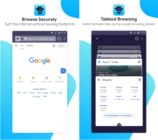 privater Browser