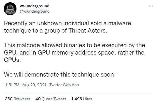 Malware versteckt sich im VRAM Ihrer Grafikkarte