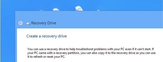 Was ist ein Wiederherstellungslaufwerk unter Windows?