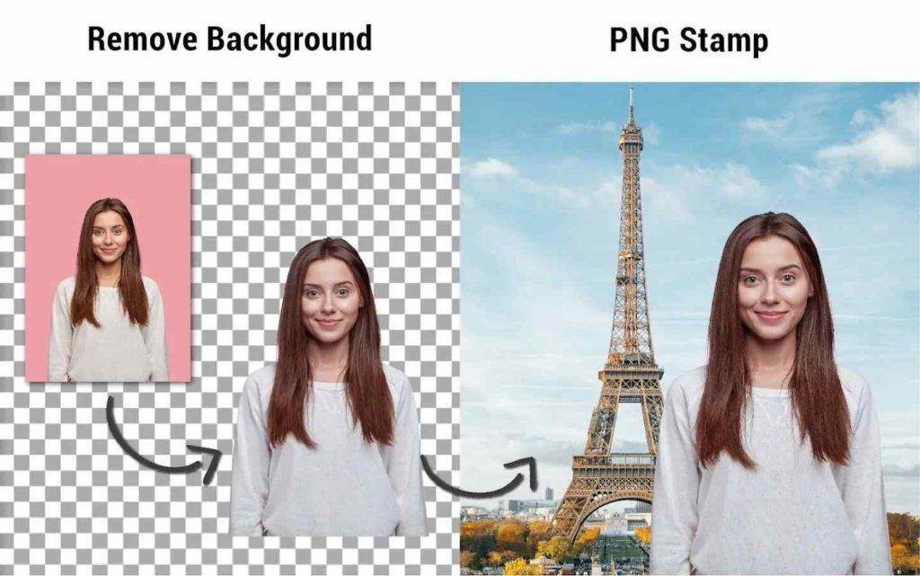 So entfernen Sie den weißen Hintergrund aus dem Bild