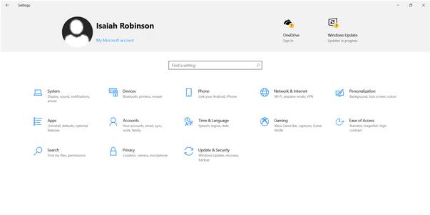 Windows-Einstellungen-App
