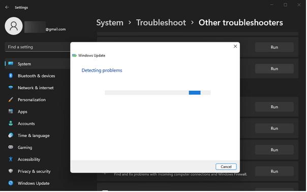 Windows-Fehlerbehebung
