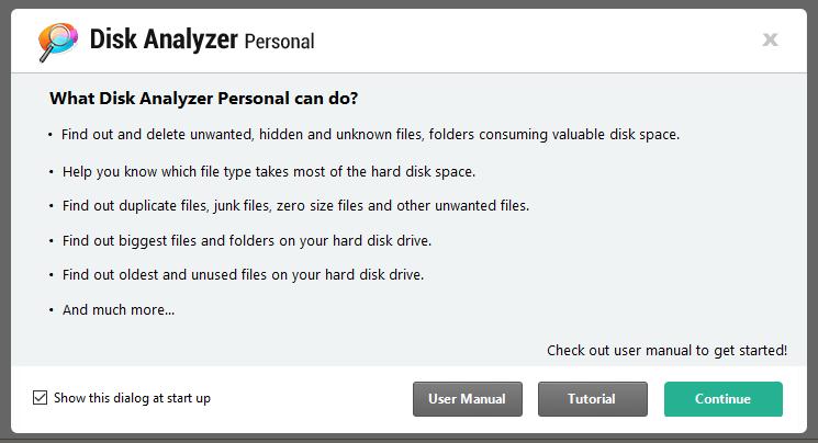 So verwenden Sie den Disk Analyzer Pro