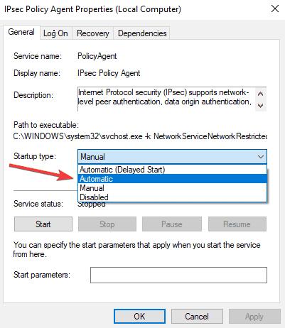 VPN-Fehler 789 Verbindung fehlgeschlagen unter Windows 10