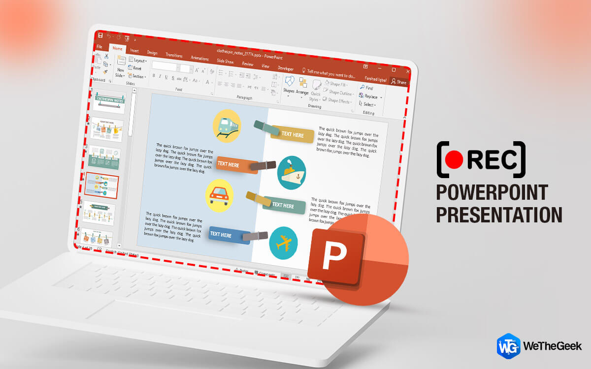 How To Record A PowerPoint Presentation on Windows?