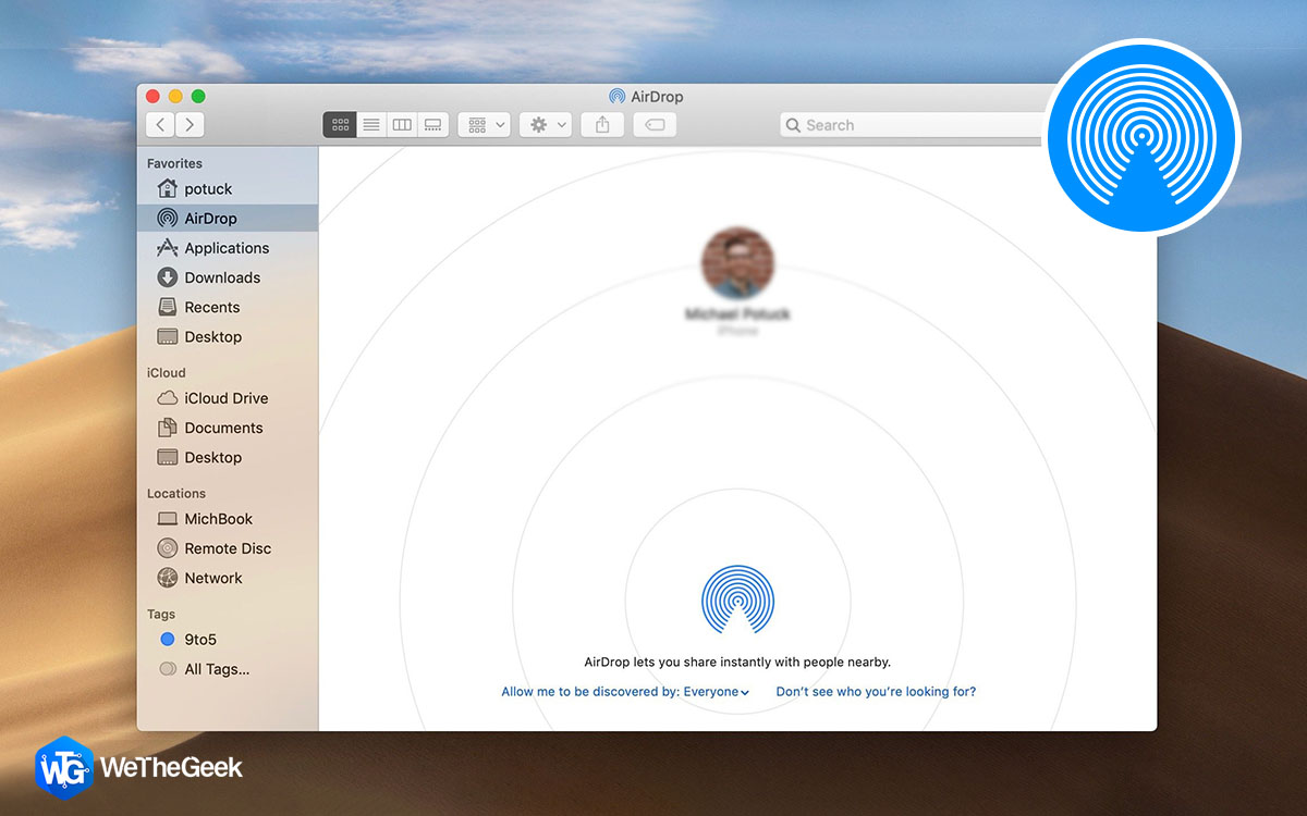 How To Use and Turn On AirDrop On Mac
