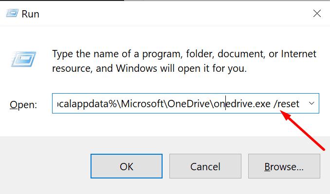 OneDrive kann Verknüpfungsfehler nicht verschieben